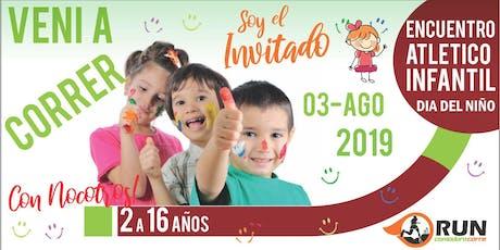 """Encuentro Atlético Infantil """"Dia del Niño"""" entradas"""