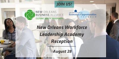 New Orleans Workforce Leadership Academy Reception