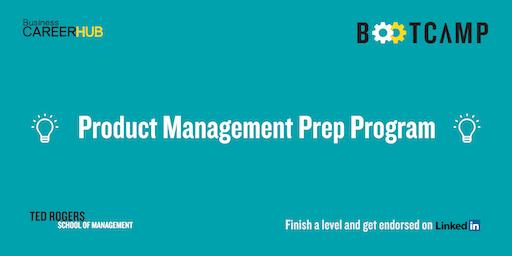 Product Management Prep Program (3 days)