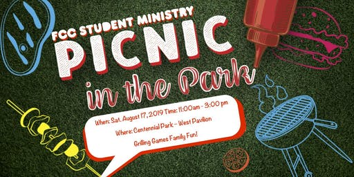 FCC Student Ministries Picnic 2019