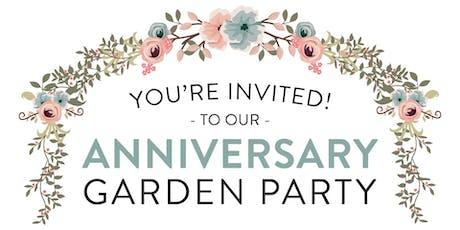 Anniversary Garden Party tickets