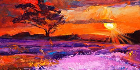 Deep Red Ozzy Sunset - Art Class tickets