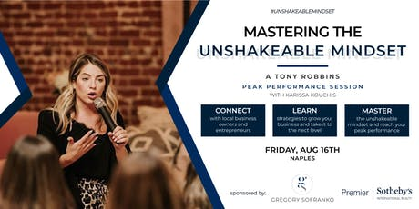 Mastering the Unshakeable Mindset & Transform your Business tickets
