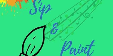 Sip & Paint Night tickets
