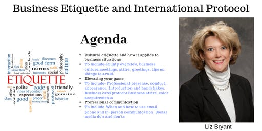 Business Etiquette & International Protocol for Professionals