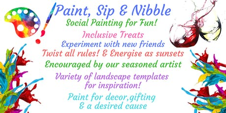 Paint Art, Sip & Nibble  at Nottingham Playhouse tickets