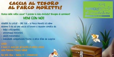 CACCIA AL TESORO AL PARCO prenota gratuitamente, paga in palestra biglietti