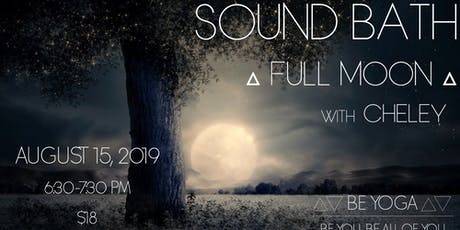Full Moon Sound Bath with Cheley tickets