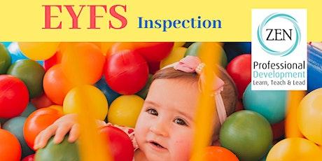 EYFS Inspectiontickets