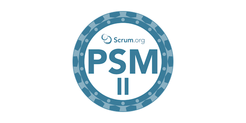 Professional Scrum Master II by John Coleman - advanced