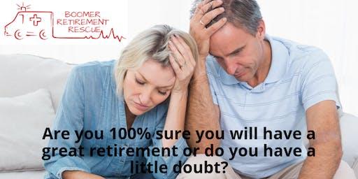 Boomer Retirement Rescue Seminar