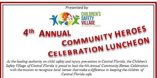 Community Heroes Celebration Luncheon