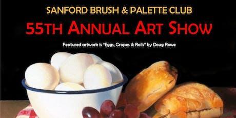 Sanford Brush & Palette Club 55th Annual Art Show tickets