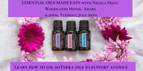Essential Oils Made Easy with doTerra & Nicola Hogg tickets