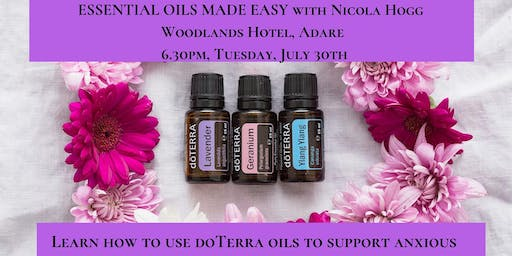 Essential Oils Made Easy with doTerra & Nicola Hogg