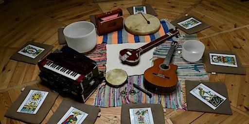 Respirer, chanter, danser & jouer les Arcanes du Tarot (février 2020)