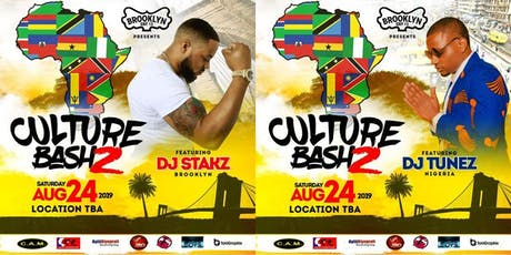 CULTURE BASH 2 tickets