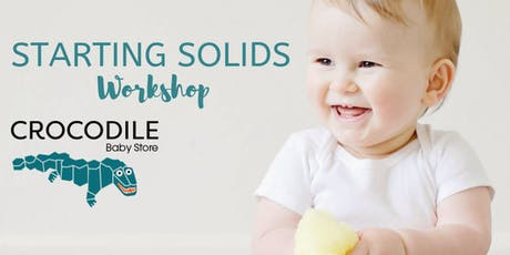 Starting Solids at Crocodile Baby tickets