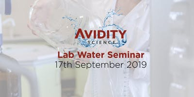 Avidity Science Laboratory Water Seminar 2019