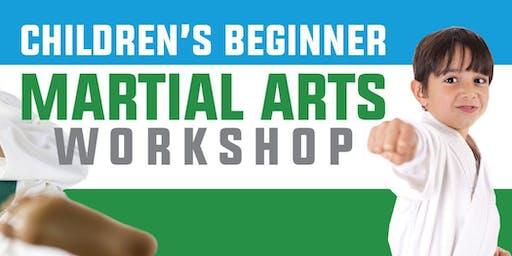 ATTN Parents: FREE Beginner Karate Workshop for Kids Ages 5-12