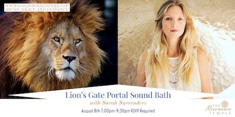 Lion's Gate Portal Sound Bath tickets