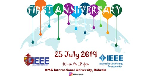 Celebrating the 1st anniversary of launching IEEE AMAIUB STB01006