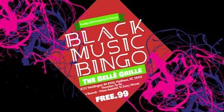 Black Music Bingo at The Bellè Grille tickets