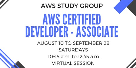 AWS Certified Developer - Associate Study Group tickets