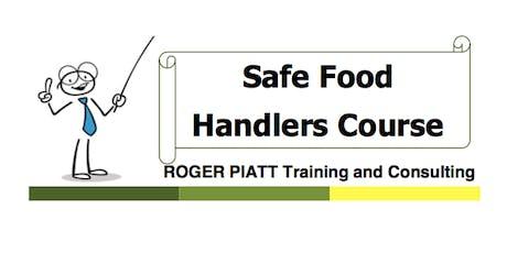 Safe Food Handling Course - North Battleford - Monday Sept 16, 2019 tickets