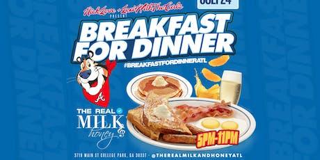 Breakfast For Dinner Wednesdays tickets