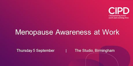 Menopause Awareness at Work tickets