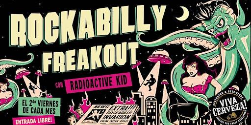 Rockabilly Freakout con DJ Radioactive Kid!