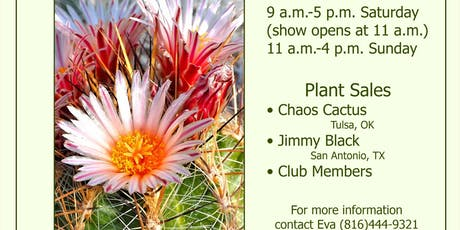 Cactus and Succulent Show and Sale tickets