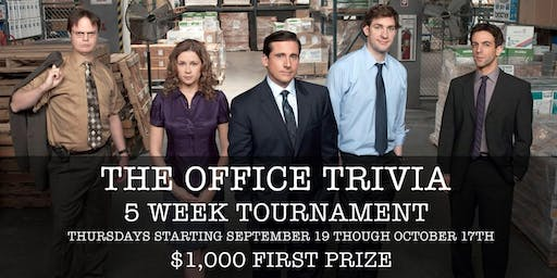 Office Trivia at 115 Bourbon Street- Week 2