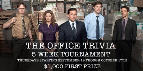 Office Trivia at 115 Bourbon Street- Week 5 (FINAL) tickets