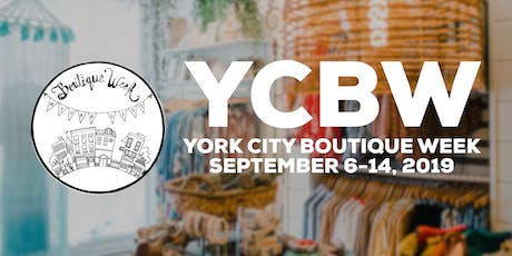 York City Boutique Week 2019 - Let's Talk Shop tickets