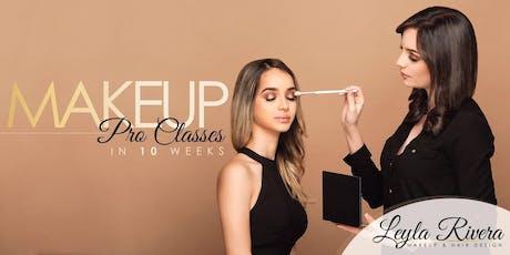 Makeup Pro Classes in 10 Weeks- Bayamon 9-12 entradas