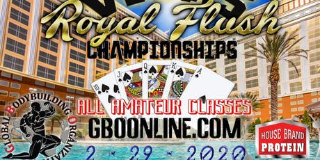 Global Bodybuilding Vegas Royal Flush Championships tickets