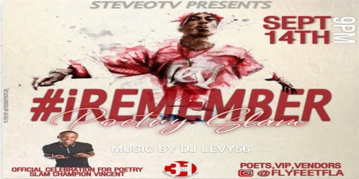 #iRemember Poetry Slam