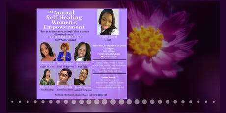 1st Annual Self Healing Women's Empowerment tickets