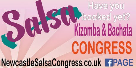 The 2020 Newcastle Salsa Congress tickets