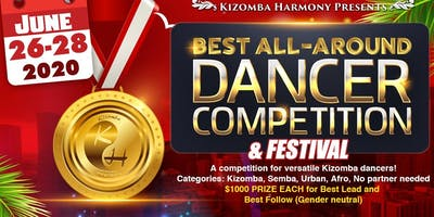 Kizomba Harmony 3rd Annual Best All Around Dancer Competition and Festival 2020