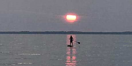 SUP Sunset Yoga on Old Mission Peninsula tickets