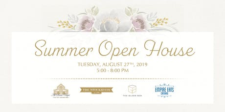 Summer Open House + Tasting tickets