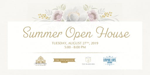 Summer Open House + Tasting