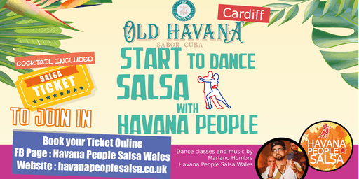 Beginners Salsa Class and Welcome Cocktail !