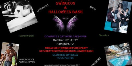 SWINGCON 2019 & HALLOWEEN BASH HOTEL TAKEOVER tickets