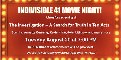 Indivisible 41 Movie Night