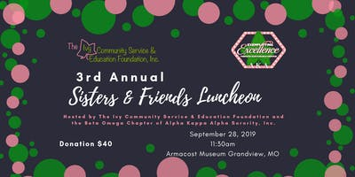 3rd Annual Sisters & Friends Luncheon