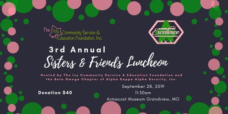 3rd Annual Sisters & Friends Luncheon tickets